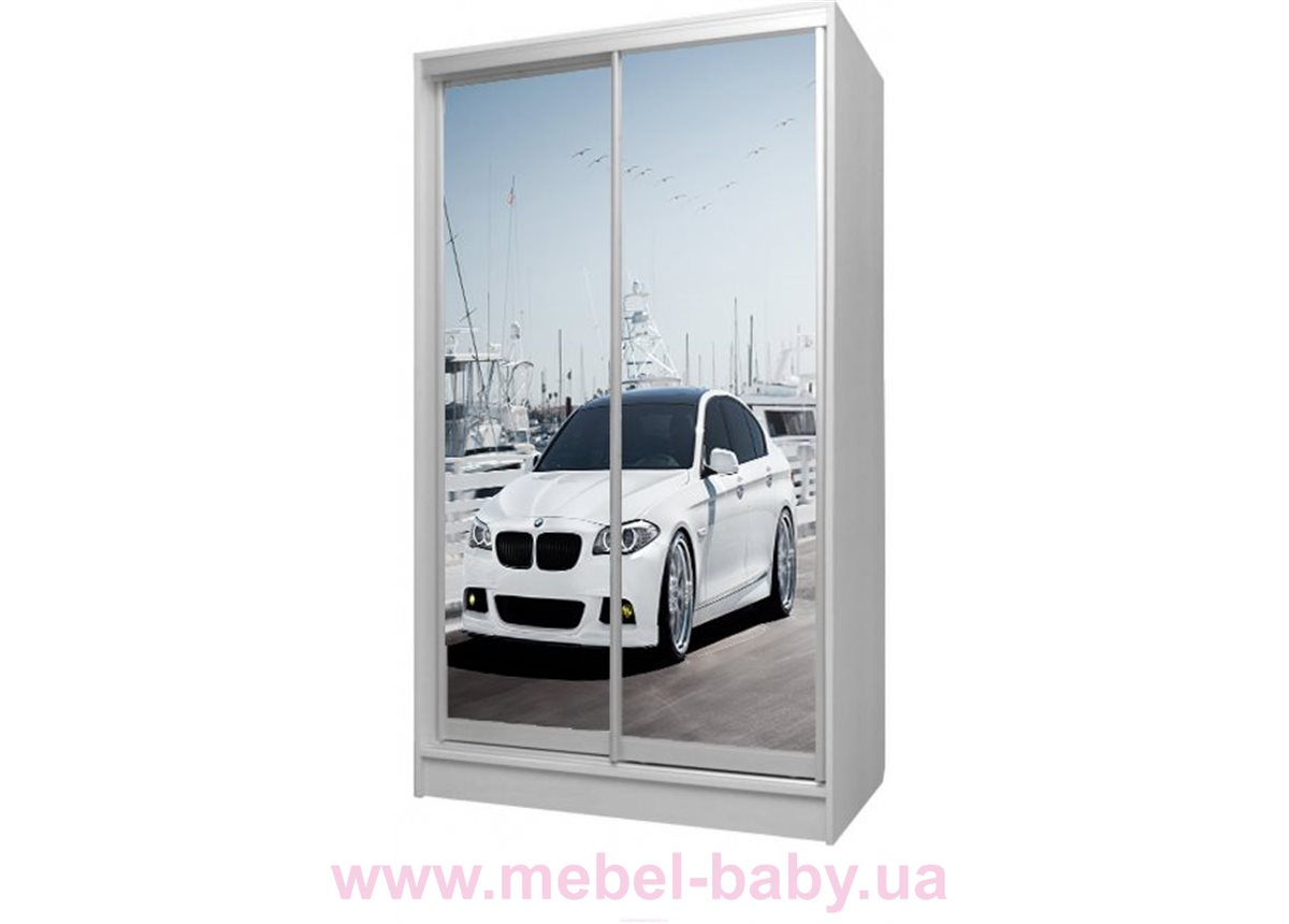 Шкаф-купе БМВ 38 Viorina-Deko 1200 серый