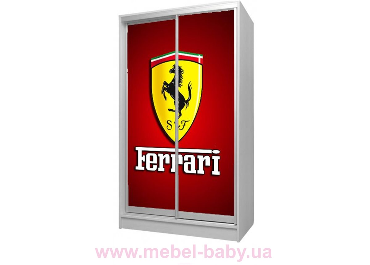 Шкаф-купе Феррари 34 Viorina-Deko 1200 серый