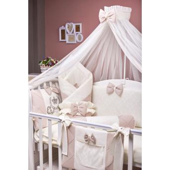 Набор постельного белья Lux 1 Rose MIMIKIDS
