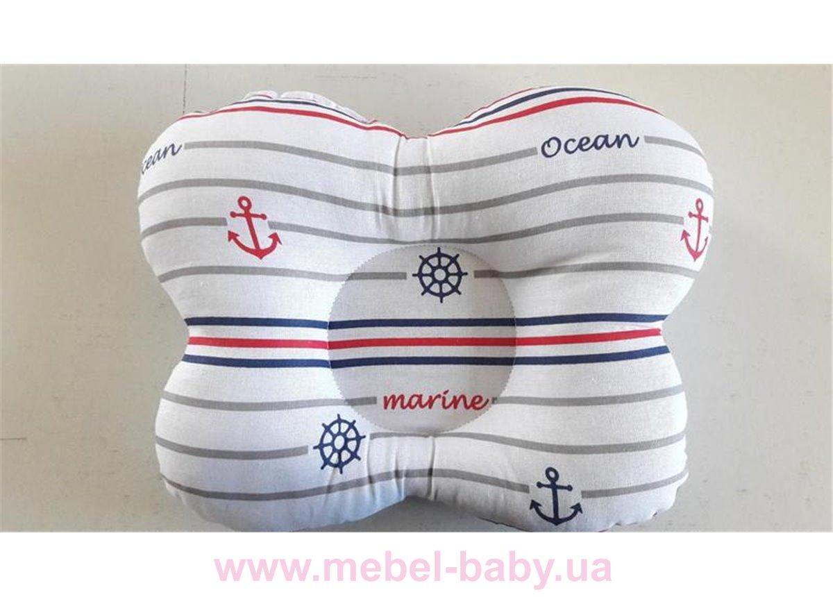 Подушка ортопедическая (для новорожденных) морячек 25x30 VIALL