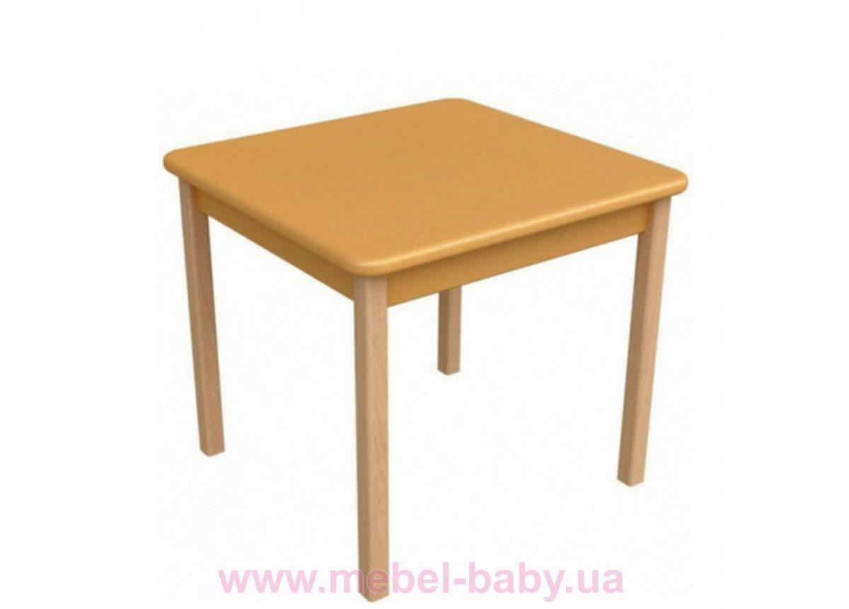 Столик дерево/пленка оранжевый, арт. 29.2.21