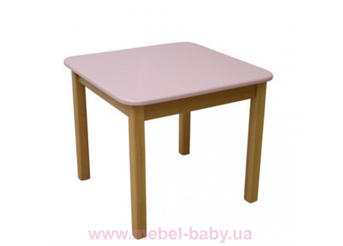 Столик дерево/пленка розовый, арт. 29.2.20