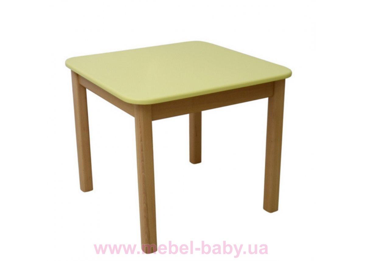 Столик дерево/пленка желтый, арт. 29.2.17