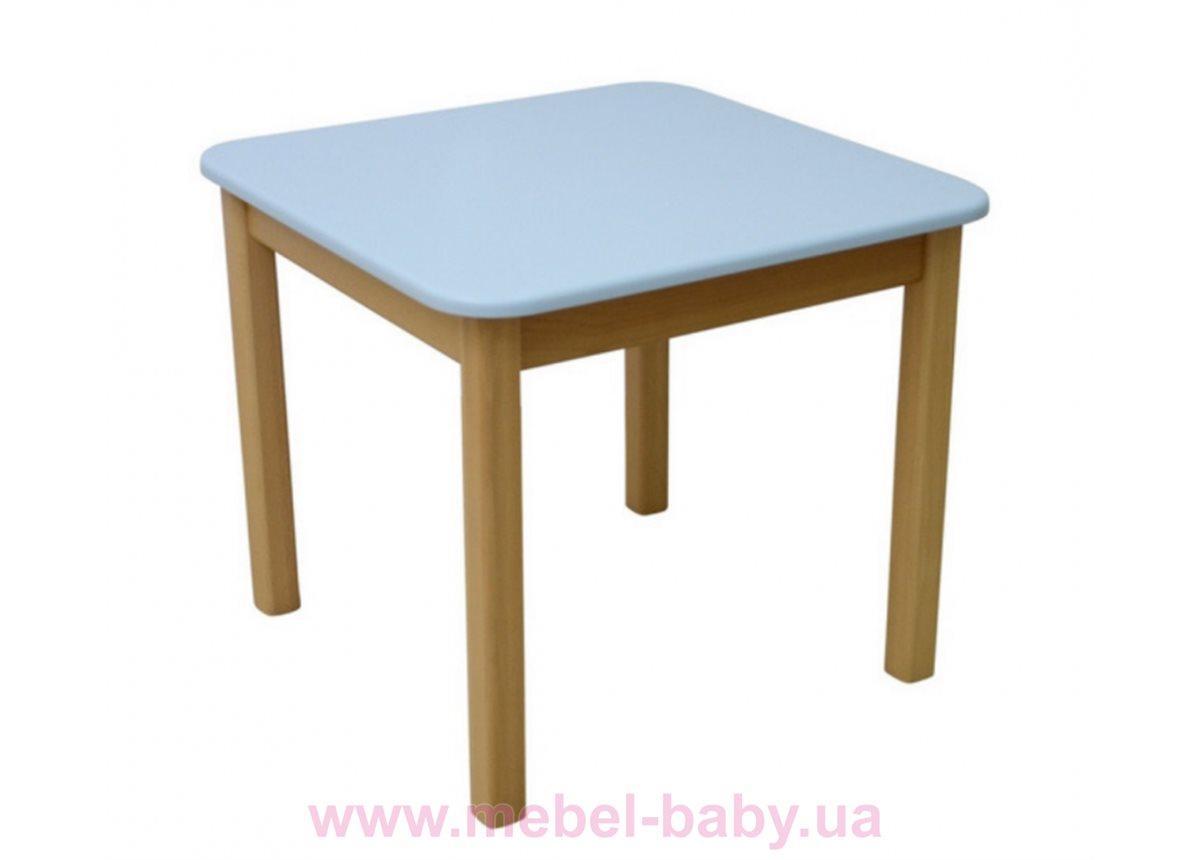 Столик дерево/пленка голубой, арт. 29.2.16
