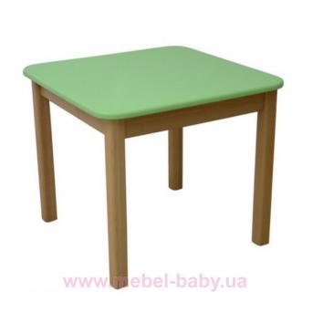 Столик дерево/пленка зеленый, арт. 29.2.18