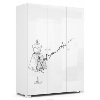 246_Шкаф YO 150 Fashion Grey Meblik1500