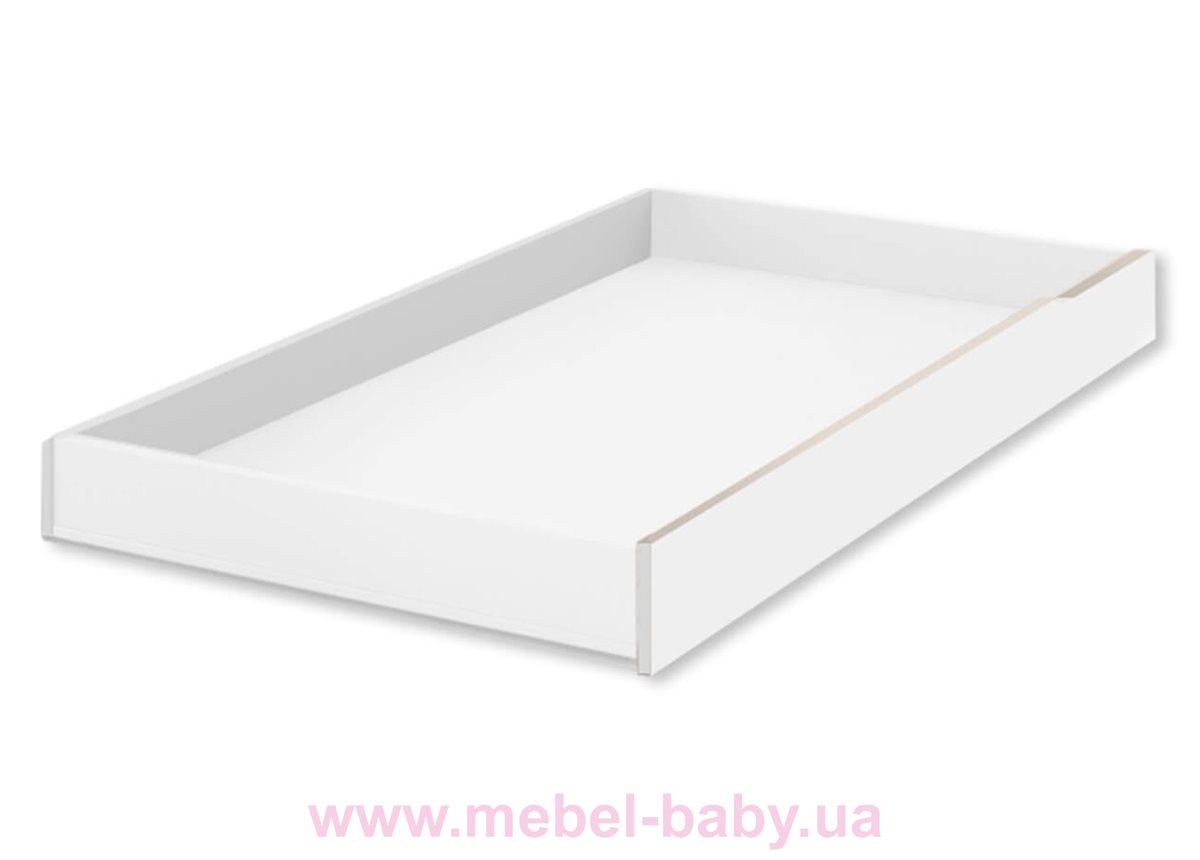 429_Подкроватный ящик Fashion Grey Meblik 1900 белый
