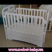 Качающаяся кроватка для новорожденных Mercy-Mama Mama 60x120 Mamma