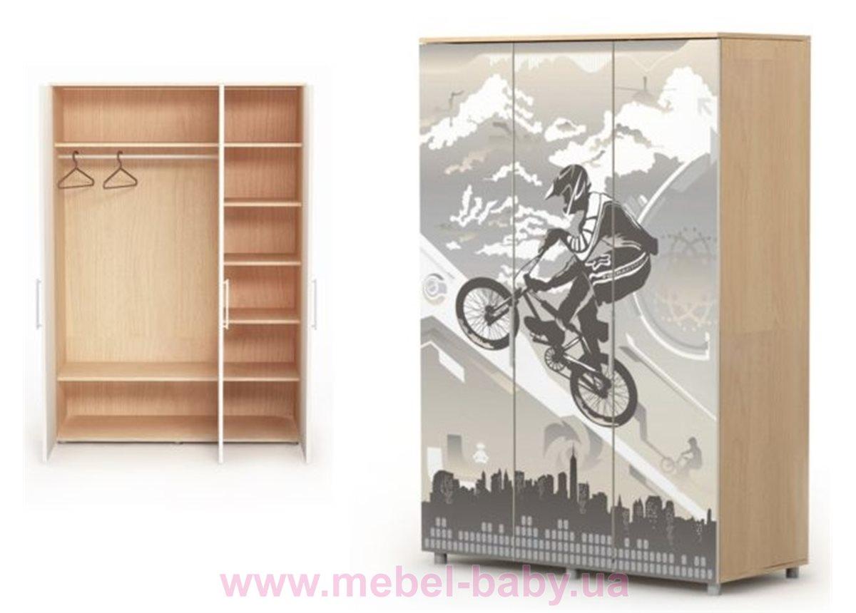 Трехдверный шкаф M-03-1 Briz