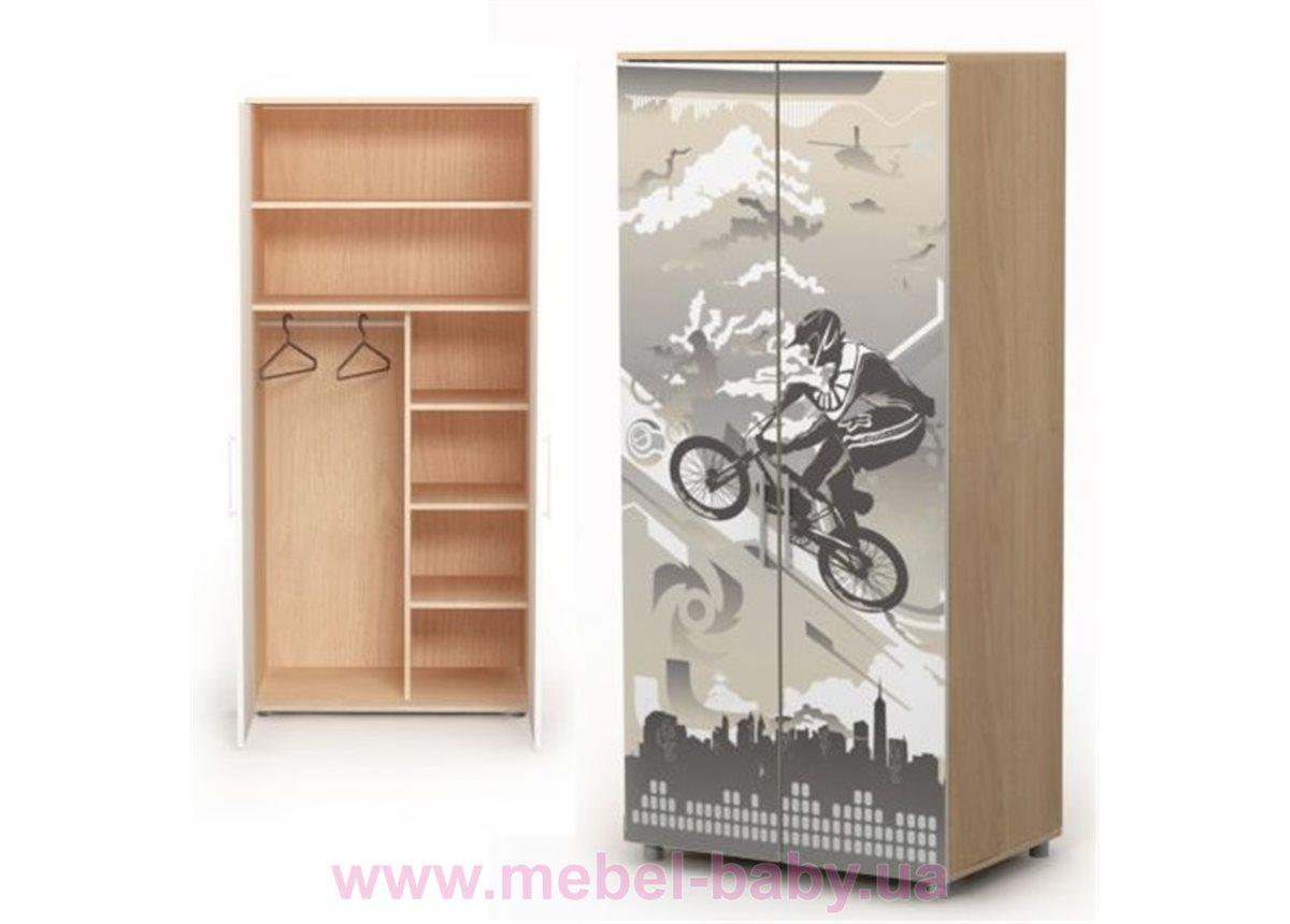 Двухдверный шкаф M-02-1 Briz