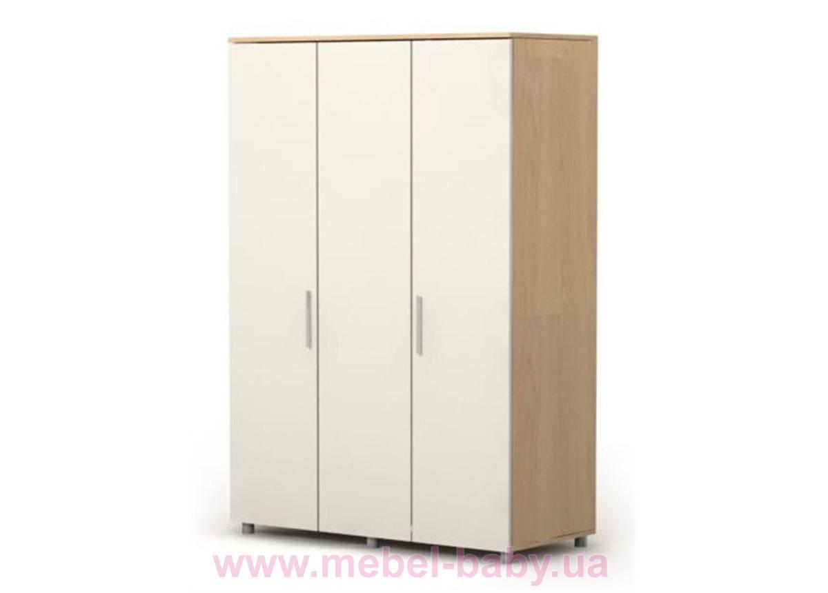 Трехдверный шкаф M-03-2 Briz 1350 дуб родос