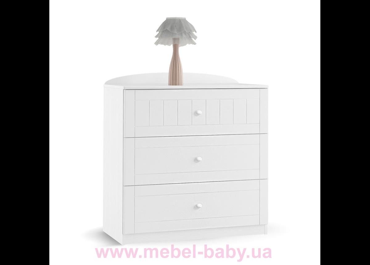 1 Комод 90 Nordic Meblik Белый