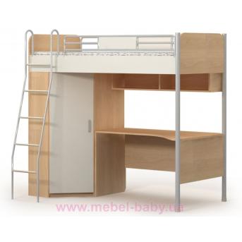 Кровать+ стол  M-16-2  Briz 90х200 дуб родос