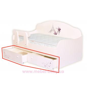 Ящики к кровати-диванчик Париж MebelKon