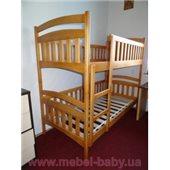 Двухъярусная кровать Белоснежка Дримка 80x190 Дерево