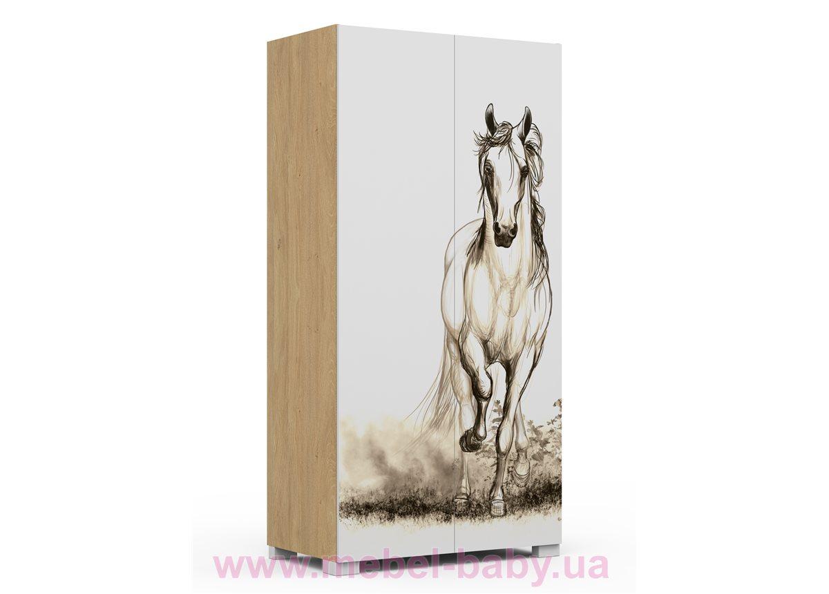 244_Шкаф YO 100 Oak Horse