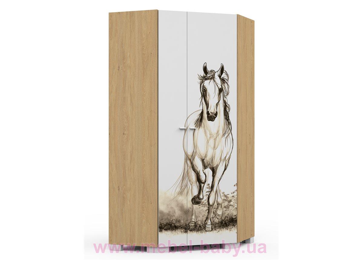282_Шкаф угловой Oak Horse Meblik