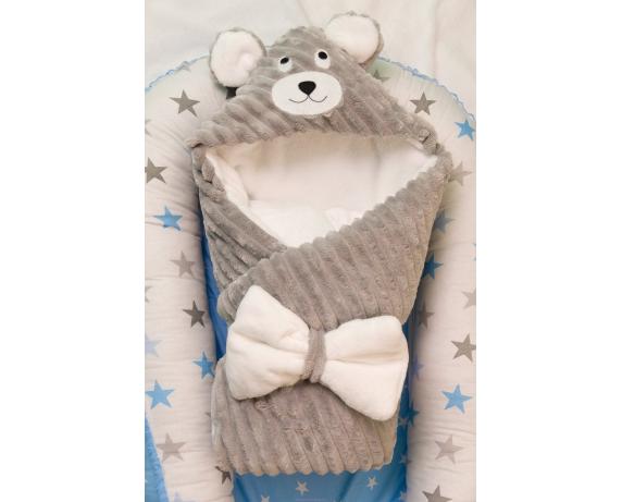 "Конверт - одеяло ""Мишка"" Добрый Сон 100х80"