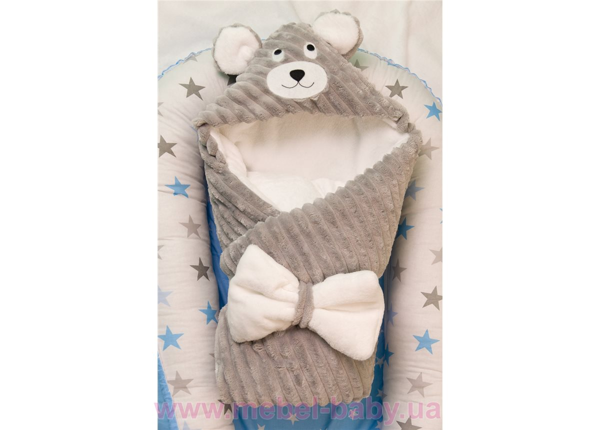 Конверт-одеяло Мишка Добрый Сон 100х80