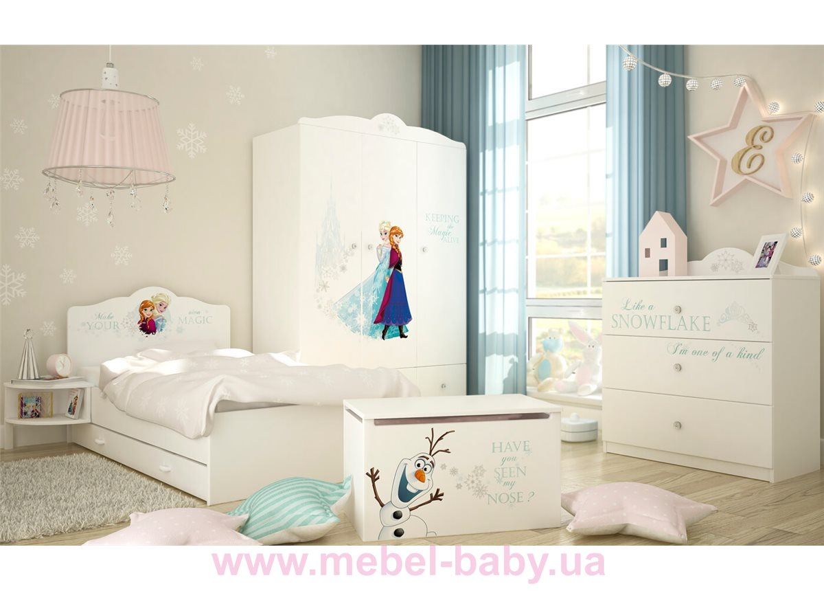 Распродажа_Комната Meblik Frozen белая