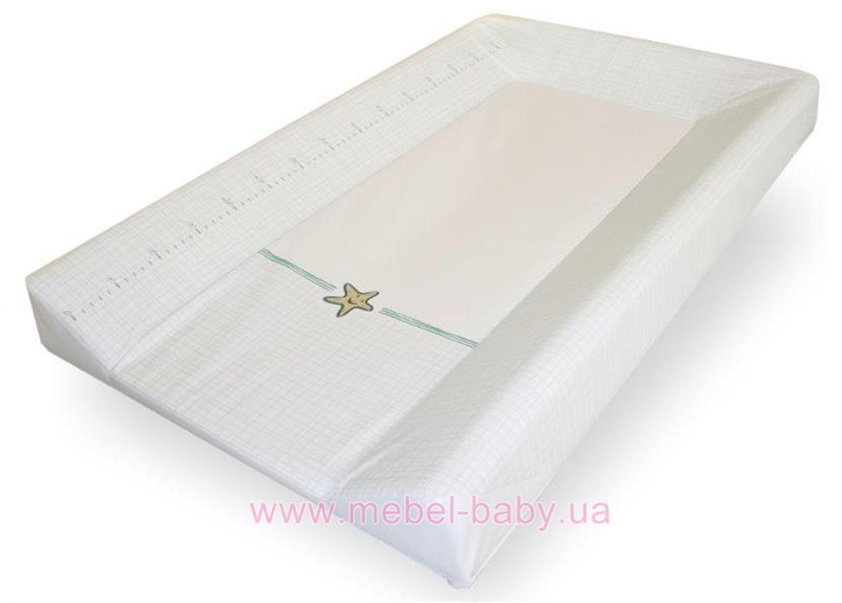 Распродажа_960_Пеленальный столик Meblik Белый 50 см
