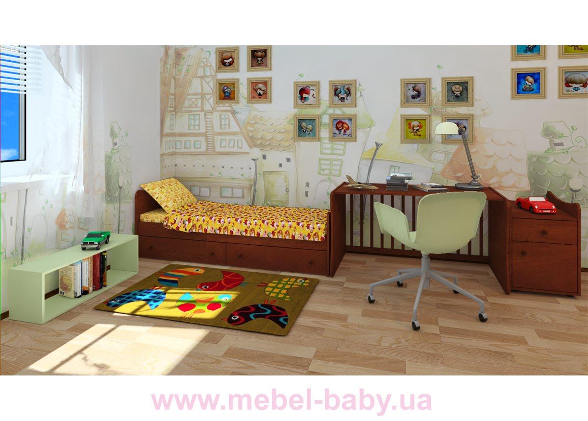 "Кроватка-трансформер ""Стандарт""  Fmebel  60x120"