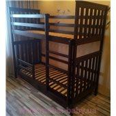 Двухъярусная кровать Хетти Мистер Мебл 90х200 Дерево