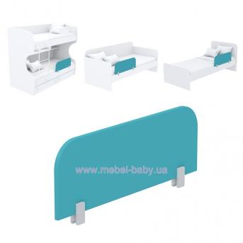 Защитная боковина к кровати кв-20 Акварели Бирюзовые