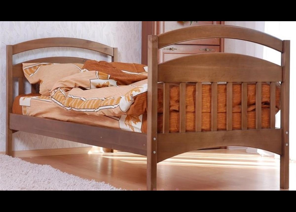 Кровать одноярусная «Арина» с задней перегородкой