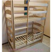 Кровать двухъярусная-трансформер Лакки (масcив) Луна 80x190