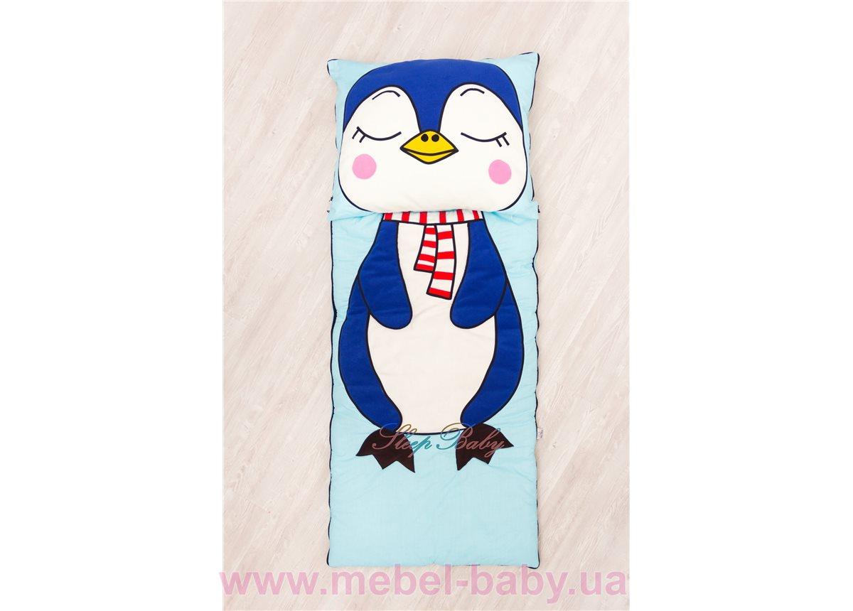 Слипик с разъемной молнией «Пингвин» 70x170 Sleep Baby