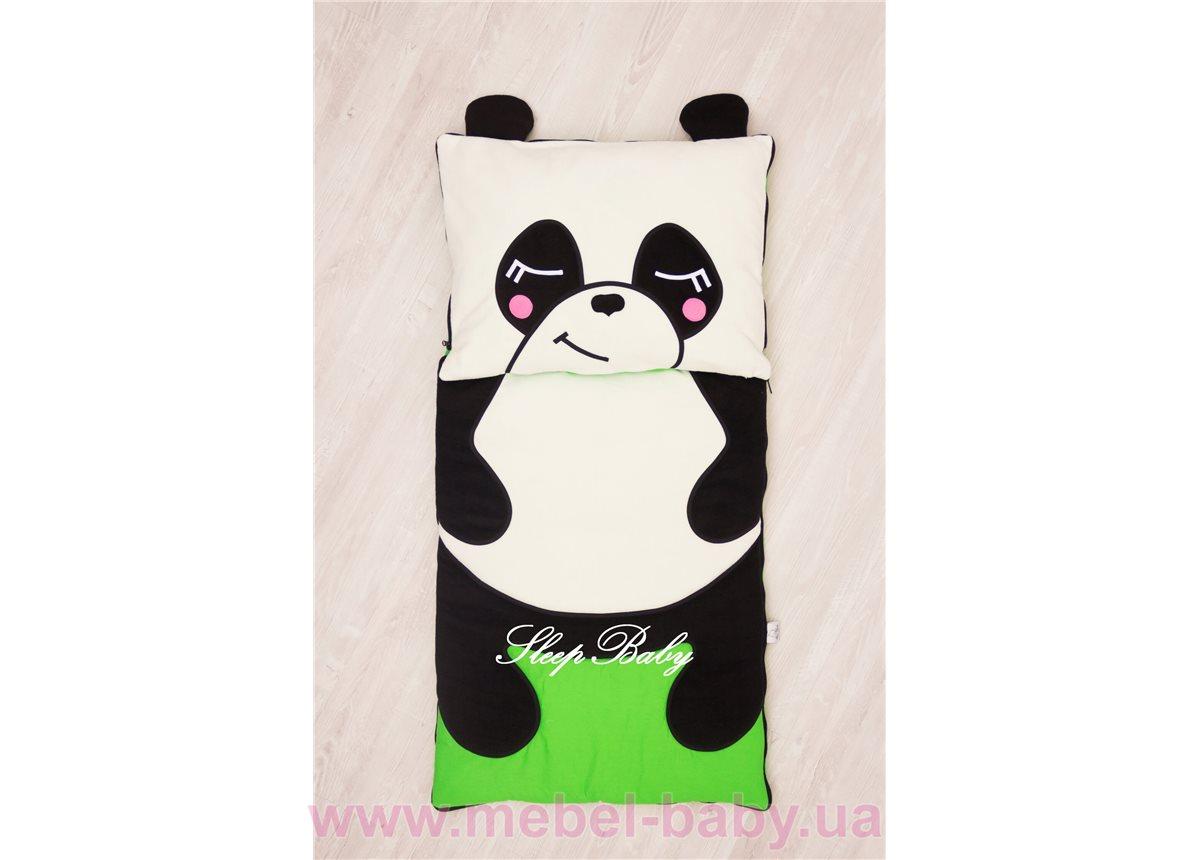 Слипик с разъемной молнией «Панда» 70x170 Sleep Baby