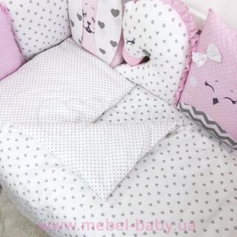 Комплект Chudiki standart (7 предметов) Маленькая Соня розовый