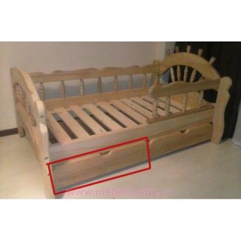 Ящик на роликах для одноярусных кроватей Sokira (1шт)