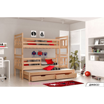 Двухъярусная кровать Джосси Мистер Мебл 90х190 Дерево
