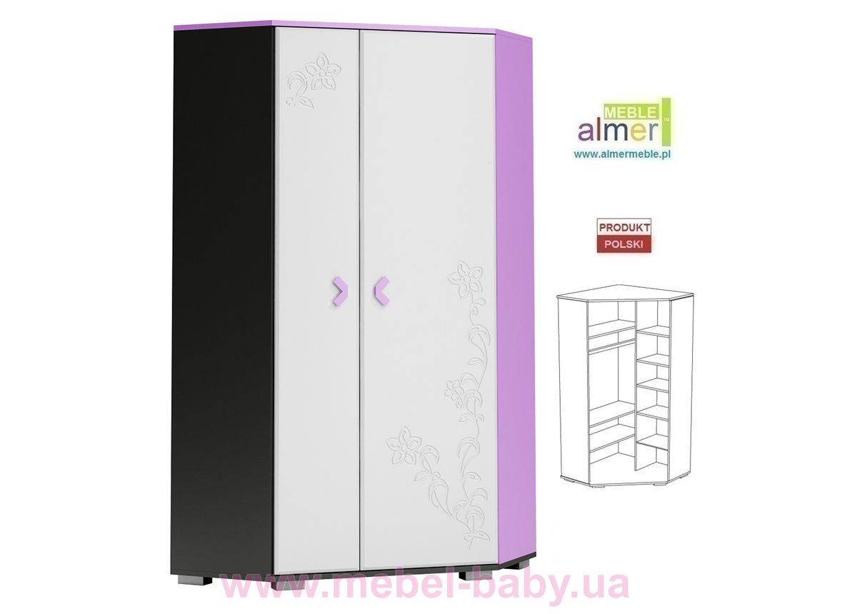 Угловой шкаф FLOWER Y17 950 Белый Almer