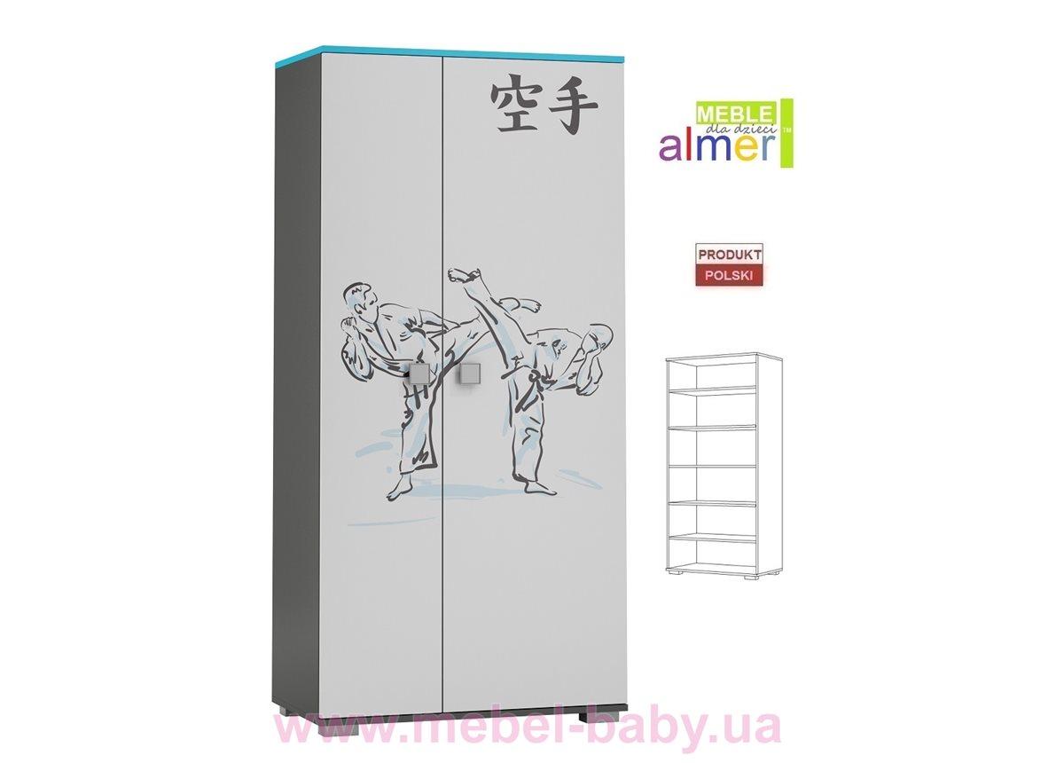 Двухдверный шкаф KARATE Y24 900 Almer белый