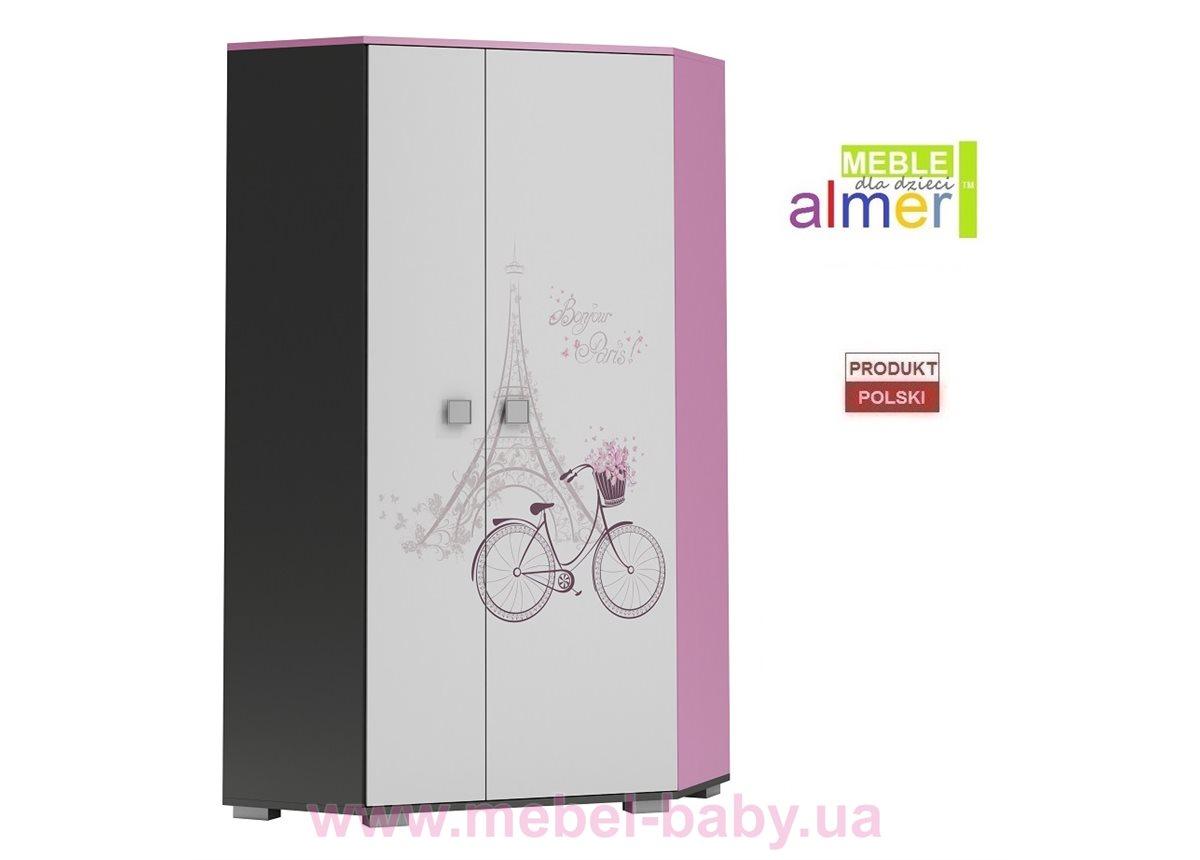 Угловой шкаф PARIS Y17 950 Almer Белый