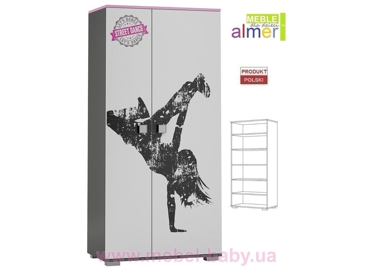 Двухдверный шкаф STREET DANCE Y24 900 Almer Белый