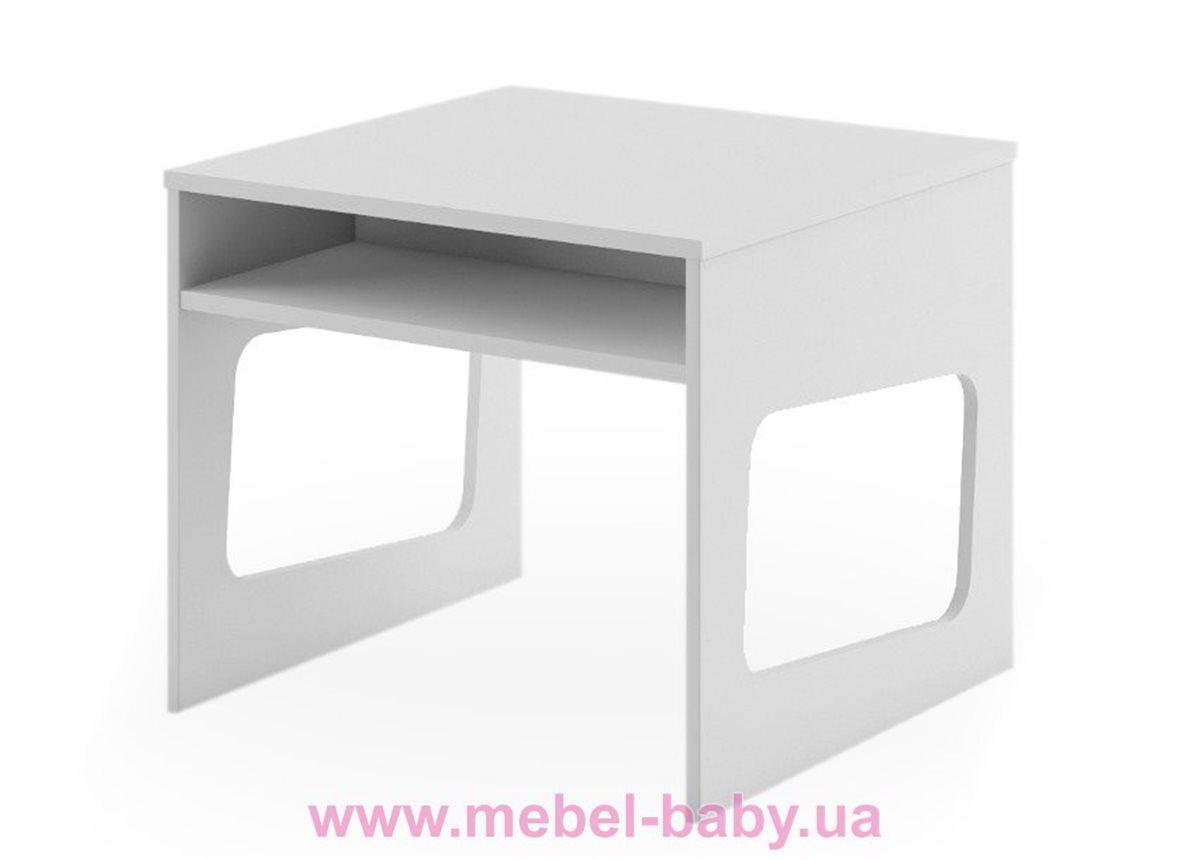 266_Столик BOX Fashion Grey Meblik 638 белый