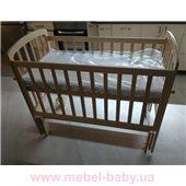 Кроватка с маятниковым механизмом универсального качания Teddy Woodman 60x120