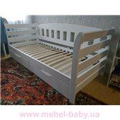 Кровать-диванчик Тедди 1-спальная (масcив) Луна 80x190