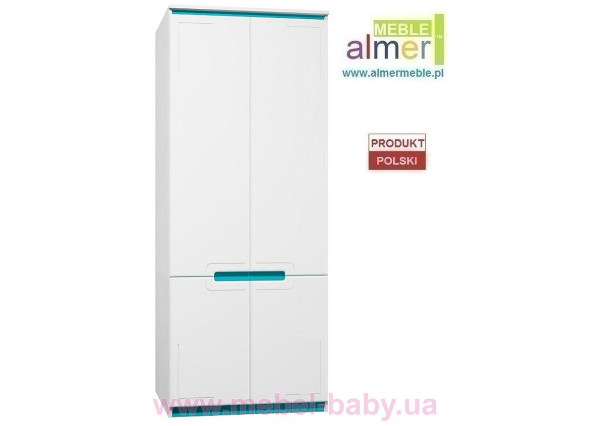 Шкаф BOSTON MDF C20 900 Белый Almer