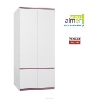 Шкаф CITY C16 900 Белый Almer