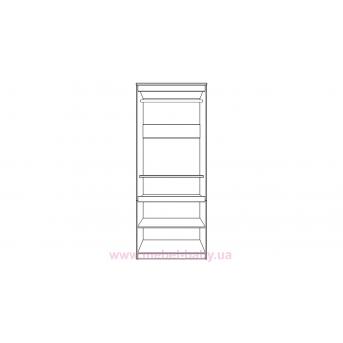 Шкаф CITY C17 900 Белый Almer
