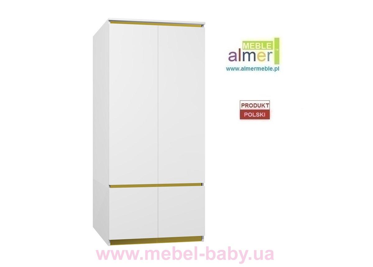 Шкаф CITY C19 900 Белый Almer