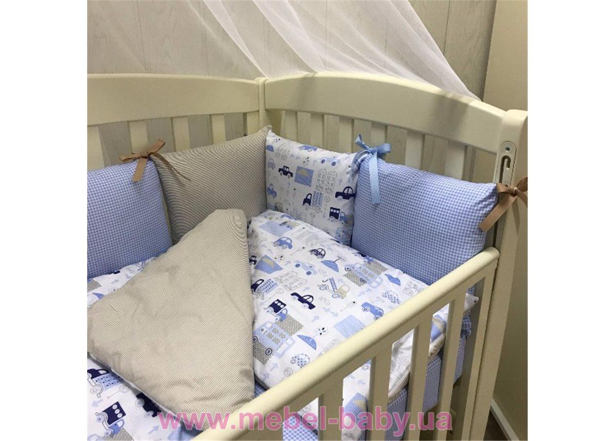 Распродажа Сменный комплект постельного белья  Baby Design премиум City Маленькая Соня