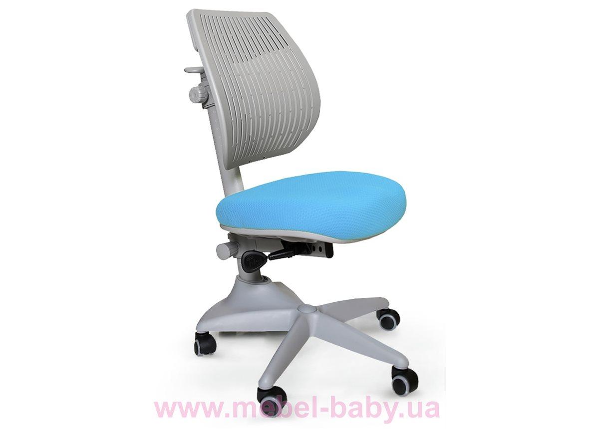 Ортопедическое кресло Speed Ultra (арт.Y-1017 KBL) Mealux обивка голубая