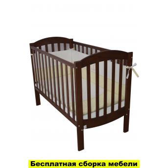 Кроватка Соня ЛД10 Верес 60х120 Орех