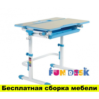 Парта-трансформеры FunDesk Lavoro L Blue